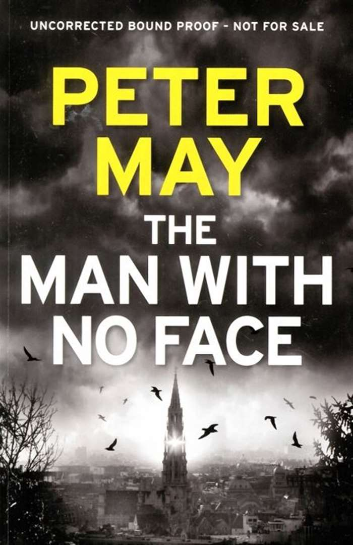 Peter May - the man behind The Man With No Face