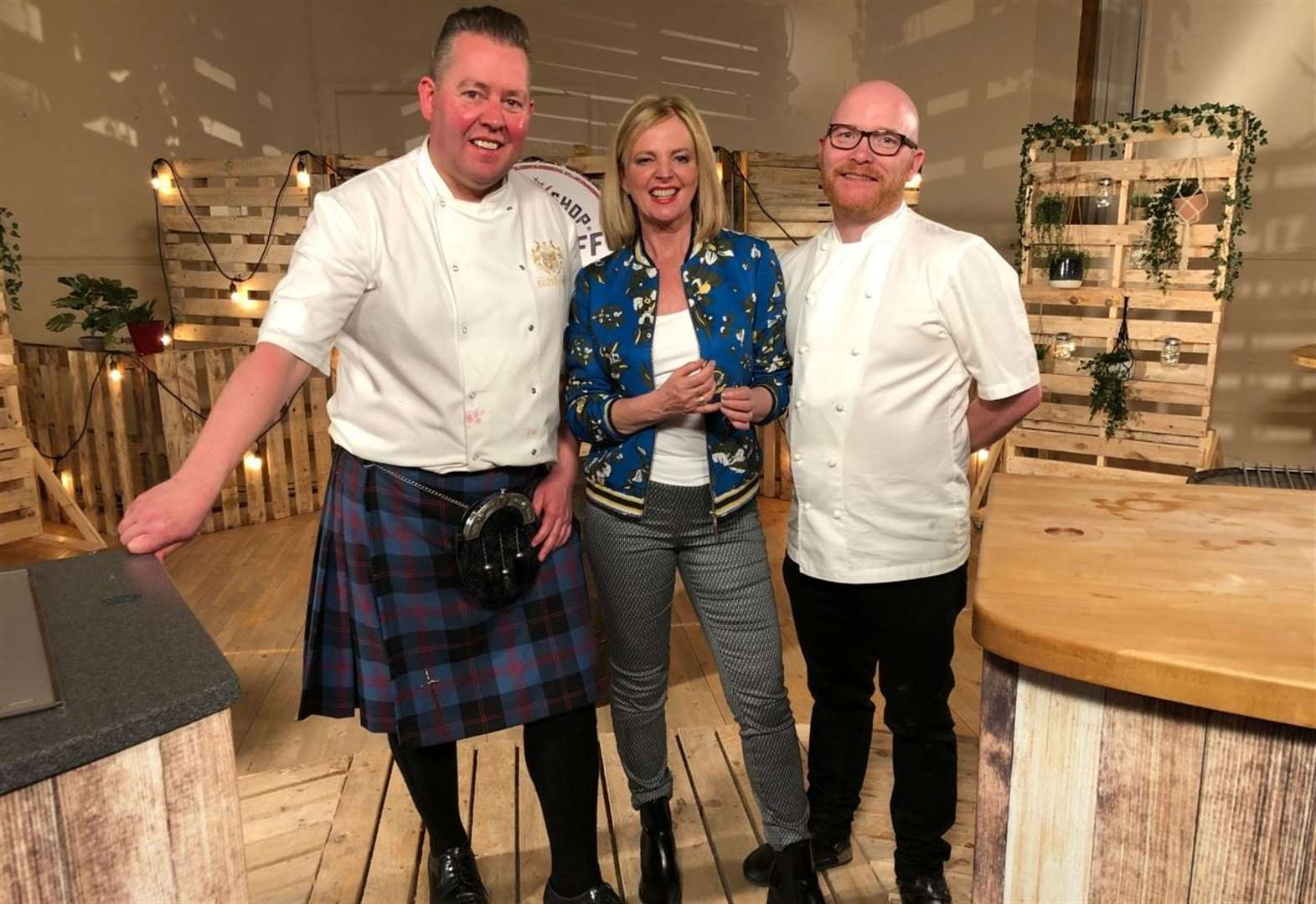 Kilted Chef takes on MasterChef winner