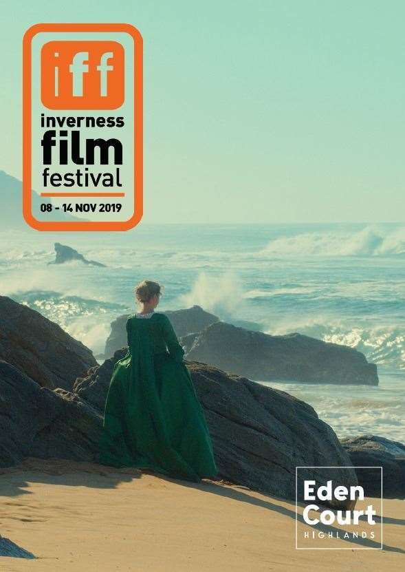 The programme for the Inverness Film Festival next month, Portriat Of A Lady On Fire on the cover.