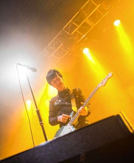 Johnny Marr live 1