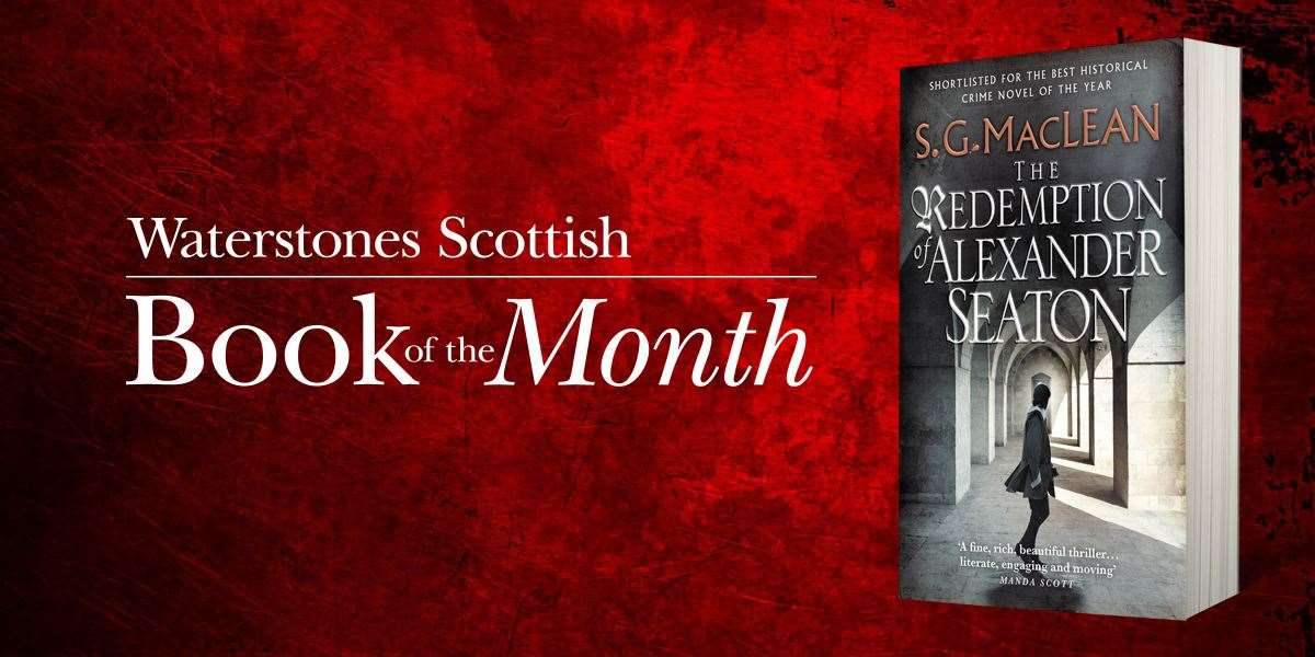 Earlier SG MacLean title is Scottish book of the month for retailer.