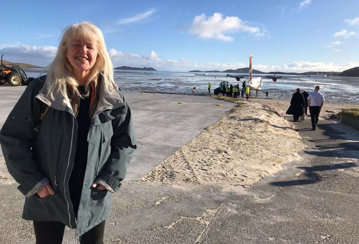 Lesley Riddoch who is a guest at this weekend's Cromarty Film Festival.