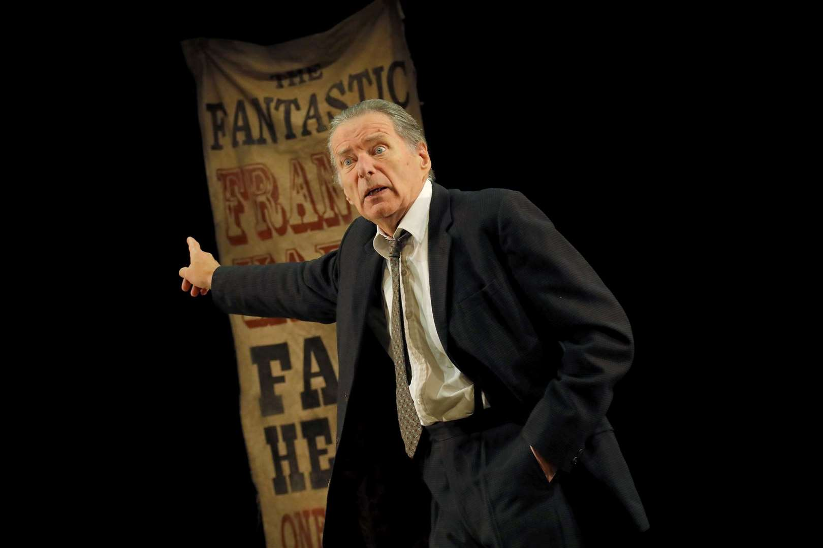 George Costigan stars as Francis Hardy in Faith Healer. Picture: Douglas McBride