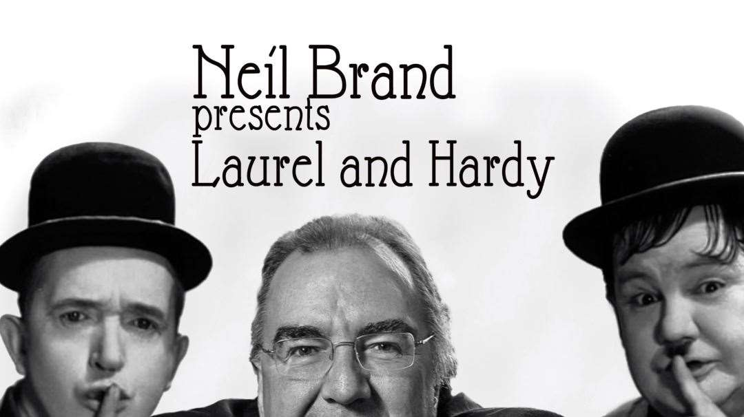 Neil Brand preents a two-hour show of stills and clips with piano accompaniment celebrating Laurel And Hardy.