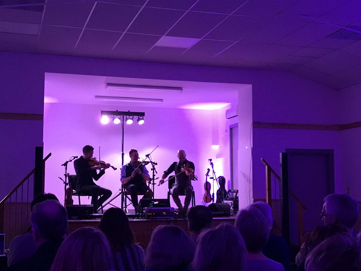 Nordic Fiddlers Bloc at Croy Village Hall.
