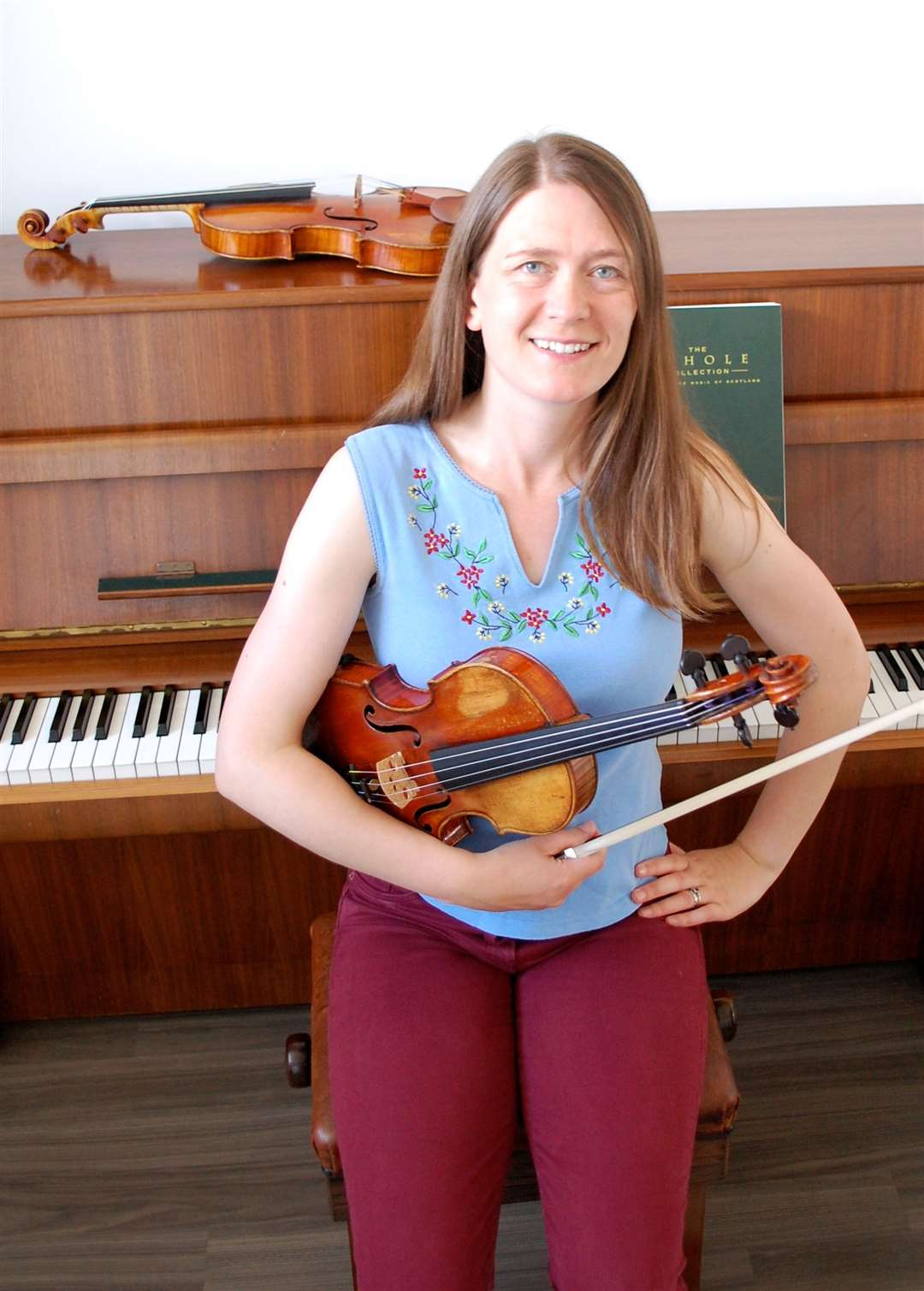 Orcadian fiddler Fiona Driver is organising Out of the Box.