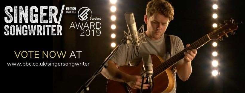 Moteh Parrott has been shortlisted for the inaugural BBC Scotland Singer/Songwriter of the Year award.