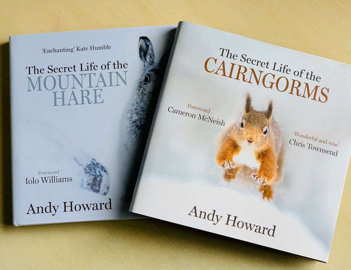 The Secret Life of the Cairngorms by Andy Howard.